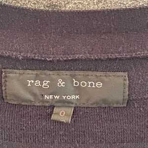 rag & bone Sweaters - Rag and Bone cotton navy striped cardigan size 0